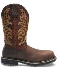 67149650f9d Lyst - Wolverine Roscoe Hp Wpf Wide Pastel Brun Boot 8 Wide Men Us ...