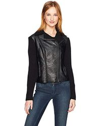 Jones New York - Moto Jacket W/sweater Slv - Lyst