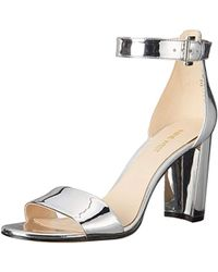 Nine West - Nora Synthetic Reptile Dress Sandal - Lyst