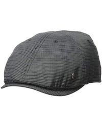 c89643ccfa86d Lyst - Ted Baker Houndstooth Flat Cap in Gray for Men