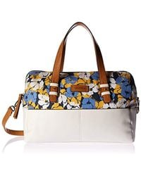 Nautica - Quayside North/south L S Canvas Tote - Lyst