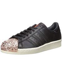 Lyst Adidas Originals Originals Rosa Superstar 80s 80s Superstar Trainers With 0f3203