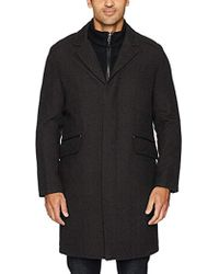 Cole Haan - Classic Topper Jacket With Knit Bib - Lyst