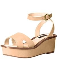 df64124a70e4 Lyst - Kensie  boston  Flatform Sandal