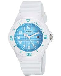 G-Shock - Quartz Stainless Steel And Resin Casual Watch, Color:white (model: Lrw-200h-2cvcf) - Lyst