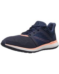 c5da1812d5b57 Lyst - Adidas Originals Energy Bounce M Running Shoe in Blue