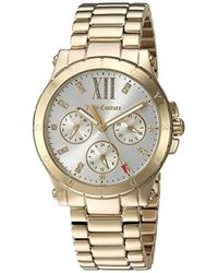 Juicy Couture - 'hollywood' Quartz Gold-tone-stainless-steel Casual Watch, Color:gold-toned (model: 1901589) - Lyst