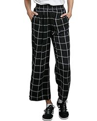 Volcom - Jumponit Cropped Wide Leg Trouser Pant - Lyst