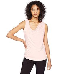 88fc7c5608a530 Lyst - Women s Ivanka Trump Sleeveless and tank tops On Sale