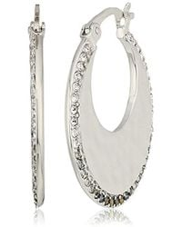 Judith Jack - Sterling Silver Small With Swarovski Marcasite Stud Earrings - Lyst