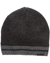 Ben Sherman - Placed Tiping Knit Beanie - Lyst