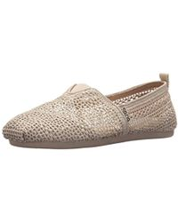 Skechers - Bobs Bobs Plush-daisy Crochet Ballet Flat - Lyst
