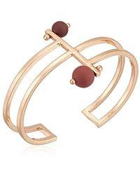 Lucky Brand - S Painted Bead Cuff Bracelet - Lyst