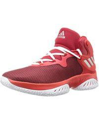 19c436e227a7f Lyst - adidas Kids  Explosive Bounce J Basketball Shoe in Red for Men