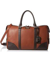 Bruno Magli - Bicolor Briefcase Bag - Lyst