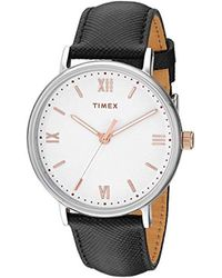 Timex Southview 41mm Leather Strap Watch
