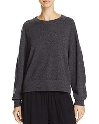 Vince - Wide Saddle Pullover Sweater - Lyst