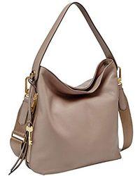 Fossil - Maya Small Hobo Handbag - Lyst