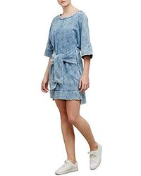 Kenneth Cole - Kimono Sleeved Tie Front Dress - Lyst