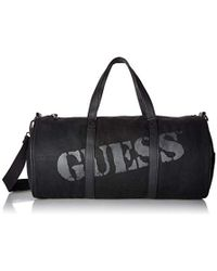 Guess - Outback Waxed Canvas Small Duffel - Lyst