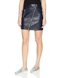 Vero Moda - Sif Faux Leather Short Skirt - Lyst