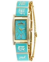 L.A.M.B. Lbh0947710 Gold-tone Chateau Bracelet Watch - Metallic