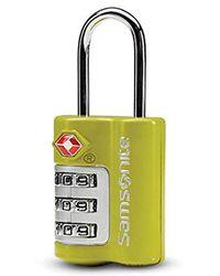 Samsonite - Travel Sentry 3-dial Combination Lock - Lyst