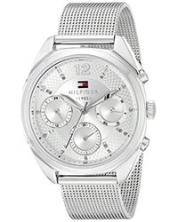 Tommy Hilfiger - 1781628 Sophisticated Sport Silver-tone Stainless Steel Watch - Lyst