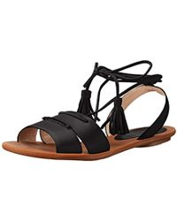 French Connection - Bobbie Flat Sandal - Lyst