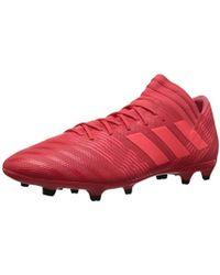 newest b23ba 861da adidas - Nemeziz 17.3 Fg Soccer Shoe, Real Coralred Zestcore Black