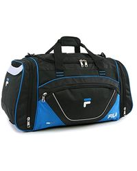 11c212840077 Fila - Acer Large Sport Duffel Bag - Lyst
