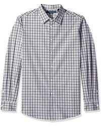Perry Ellis - Stripes And Checks Stretch Shirt - Lyst