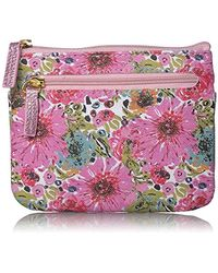 Buxton - Spring In Bloom Rfid Pik-me-up Large I.d. Coin/card Case - Lyst