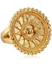 Satya Jewelry - Mandala Sun Mandala Ring - Lyst