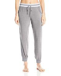 DKNY - Ankle Pant Modal Knit - Lyst