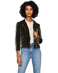 Rebecca Taylor - Velvet Moto Jacket - Lyst