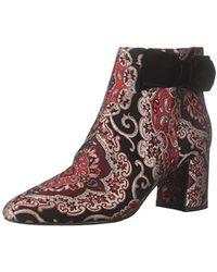 54077dd45ec8 Kate Spade - Holly Ankle Boot Russett Multi Brocade 8 M Us - Lyst