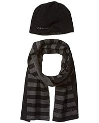 Calvin Klein - Hat And Scarf Set - Lyst