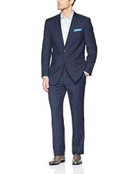Perry Ellis - Two Piece Finished Bottom Slim Fit Suit - Lyst