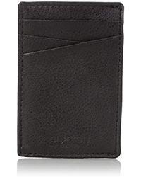 Buxton - Addison Rfid Blocking Leather Front Pocket Money Clip Wallet - Lyst