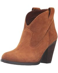 738ad958cf9 Vince Camuto - Hadrien Ankle Bootie - Lyst