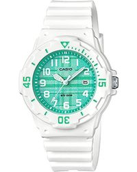 G-Shock - Quartz Stainless Steel And Resin Casual Watch, Color:white (model: Lrw-200h-3cvcf) - Lyst