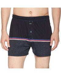1f03f166bf8d Calvin Klein Edge Microfiber Trunks in Blue for Men - Lyst