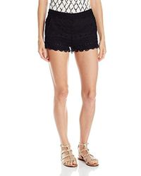 French Connection - Castaway Stripe Shorts - Lyst