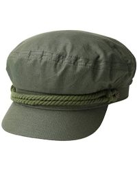 Lyst - Brixton Fiddler Cap in Green for Men - Save 16% 3877809fab3