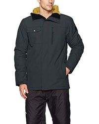Quiksilver - Snow Mission Solid 17 Jacket - Lyst