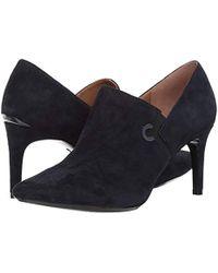 Calvin Klein - Joanie Suede Ankle Boot - Lyst