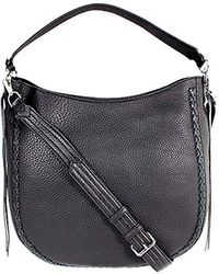 Rebecca Minkoff - Unlined Convertible Hobo With Whipstich - Lyst