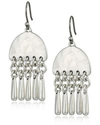 Lucky Brand - S Paddle Earrings - Lyst