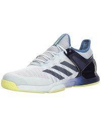 29db14e3c Lyst - adidas Adizero Ubersonic 3 Pw Tennis Shoe  blue gold in Red ...